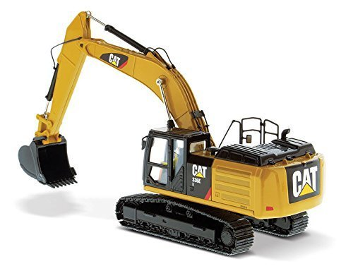 CAT Caterpillar 336E H Hybrid Hydraulic Excavator with Operator High Line Series 1/50 by Diecast Masters 85279 by Caterpillar