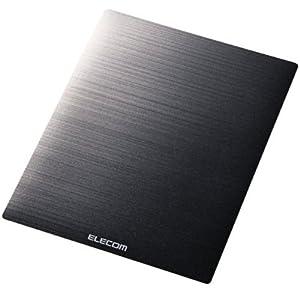 ELECOM 滑るっ!マウスパッド ブラック MP-118BK