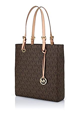 "Michael Kors MK Monogram Vertical Tote - For Macbook Up To 13"" @ The STAR"