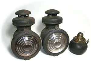 Antique Ford Model T Kerosene Side Lamps