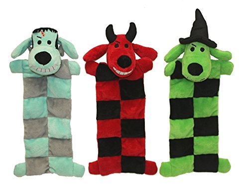 - Multi Pet Halloween Loofa Squeaker Mat Dog Toy