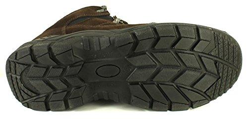 Tradesafe Hombre / hombre en marrón Granit Botas de protección con puntera de acero - Marrón - GB Tallas 6-12
