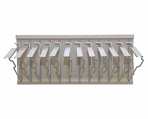 Knick Knack Supplies Pivot Wall Rack With Hangers For Blueprints by Knick Knack Supplies