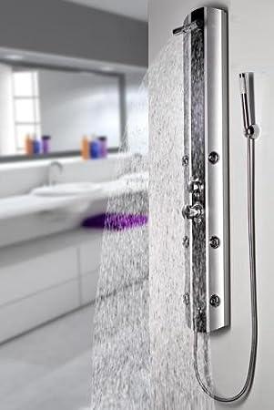 Columna de ducha con montaje en esquina + montaje en la pared A029 ...