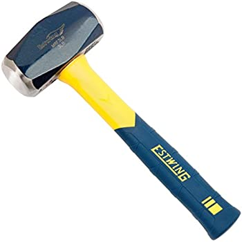 Estwing MRF3LB Sure Strike 3-pound Drilling Hammer with 11-Inch Fiberglass Handle