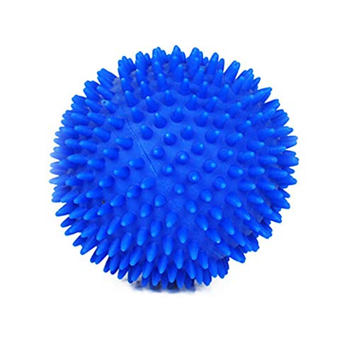 - 2018 Vinyl Ball Toy Dog Pet Fun Ball Biting Chewing Toys (Blue)
