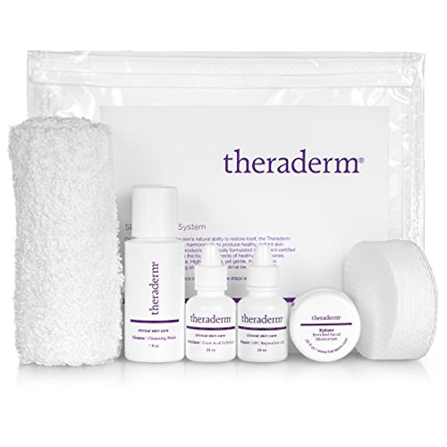 Theraderm Skin Renewal Travel System with Gentle Moisturizer. (Best E Liquid Base)