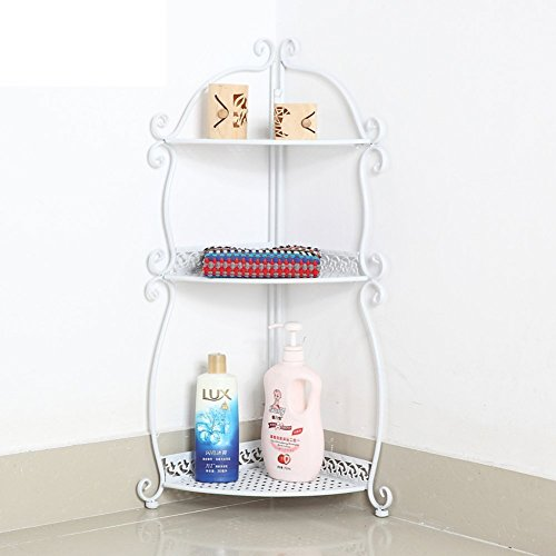 Wall Mounted Basin Stand - Bathroom racks/Toilet triangle floor stand/storage rack/toilet wall wash-basin/storage shelf-A