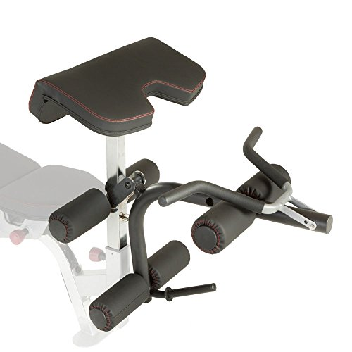 Fitness Reality X Class Olympic Preacher Curl and Leg Developer Attachment