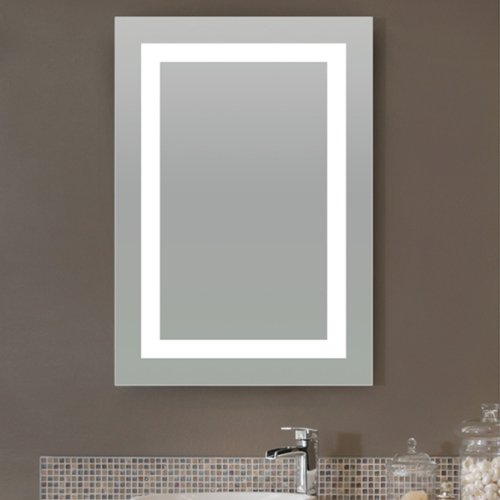 Lighted Image Led Bordered Illuminated Mirror Large Buy Online In Uae Kitchen Products In