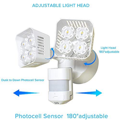 Sansi Led Security Motion Sensor Outdoor Lights 36w 250w