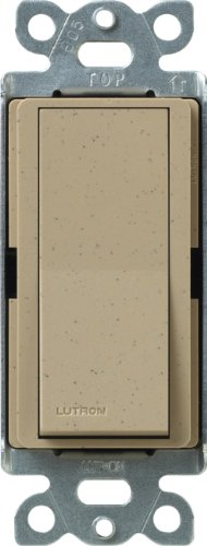 Lutron SC-4PS-MS Diva Satin Colors 15-Amp 4-Way Switch, Mocha Stone Diva Satin Colors Dimmers