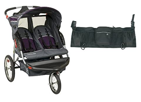 Baby Trend Expedition Double Jogger with Stroller Organizer, Elixer