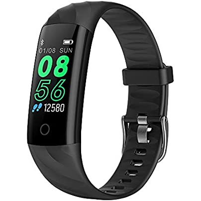 Wybss Smart Bracelet IP68 Waterproof Pedometer Heart Rate Blood Oxygen Monitor Fitness Tracker Smart Wristband Multi Sport Smart Band Estimated Price -