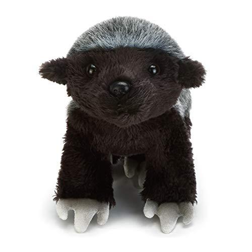 DEMDACO White Back Honey Badger Children's Plush Beanbag Stuffed Animal Toy ()