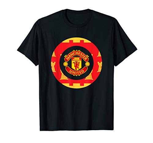 Soccer Tees MUFC styled British Spin Sports design UK