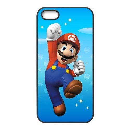 Super Mario FQ05LW2 coque iPhone 5 5s téléphone cellulaire cas coque Z2YL7Y8YY