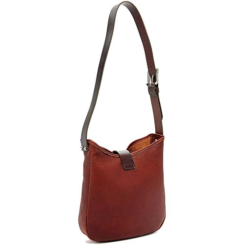 Georges Belmont Hobo Bag in Top Open Jack Black Leather 4d5w6dq