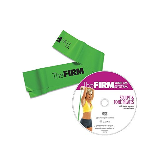 The Firm Pilates Band with DVD, Green (Medium) by The Firm