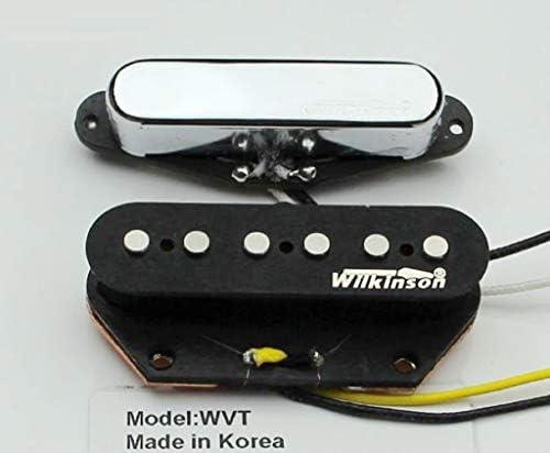 NEW Wilkinson WVTN Alnico V Polepiece Neck Pickup for Tele ® Telecaster ® CHROME