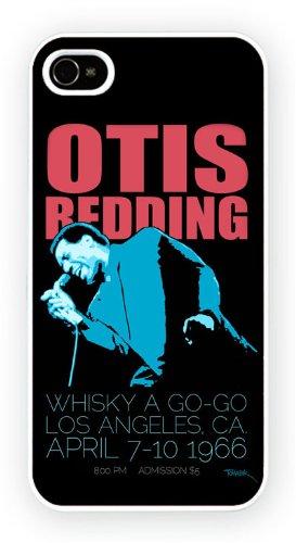 Otis Redding - stencil, iPhone 4 4S, Etui de téléphone mobile - encre brillant impression