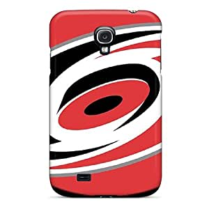 First-class Case Cover For Galaxy S4 Dual Protection Cover Carolina Hurricanes