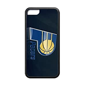 meilz aiaiQQQO indiana pacers logo Hot sale Phone Case for iphone 5/5s Blackmeilz aiai