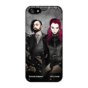 Scratch Protection Hard Cell-phone Case For Iphone 5/5s With Unique Design High Resolution Korn Band Pictures Marycase88