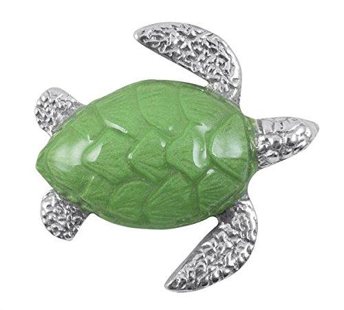 Mariposa Sea Turtle Napkin Weight, Green Mariposa Cocktail Napkin Holder