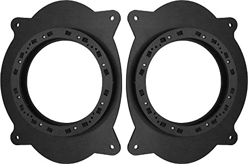 Toyota 2002-2011 Camry & 2005-2015 Tacoma Front Door Speaker Adapter Spacer Rings - SAK010_551-1 Pair (Front Door Speaker Adapter)