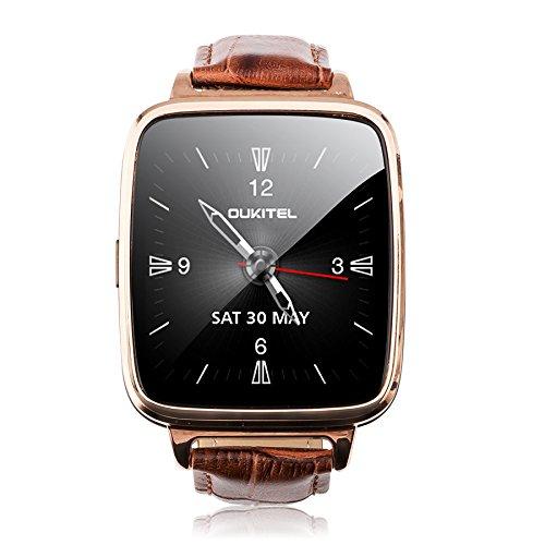 Amazon.com: OUKITEL A28 Smart Bluetooth Watch 1.54 Inch IPS ...