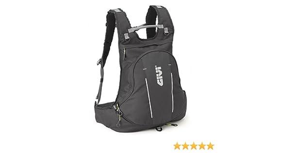 99ba213d832 Amazon.com: Givi EA104B Expandable Backpack With Helmet Holder - Easy Range:  Automotive