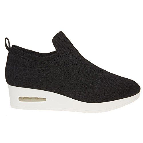 Dkny Angie Slip On Low Mujeres Sneakers Black