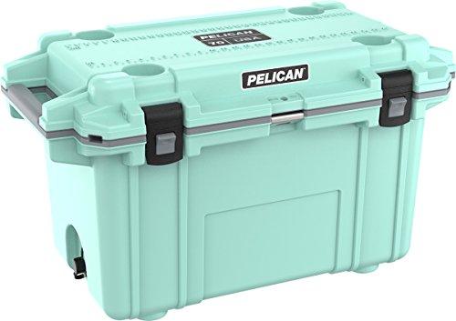 Pelican Elite 70 Quart Cooler (Seafoam/Gray) (Green Tie Pelican)