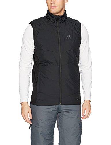 - Salomon Men's Drifter Mid Vest, Black, X-Large