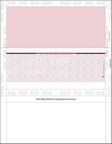 (Z-Fold Pressure Seal Blank Check Stock 11
