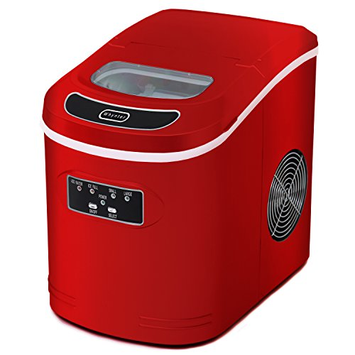 Whynter Whynter Compact Portable Ice Maker 27 lbs Metallic Red IMC-270MR