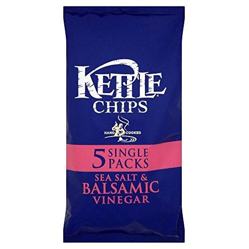Kettle Chips - Sea Salt & Balsamic Vinegar (5x30g) - Pack of 2