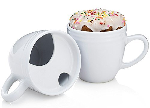 The Best. Morning. Ever. Mug - Donut Warming Coffee Cup With Drip Trap and Mustache Guard -