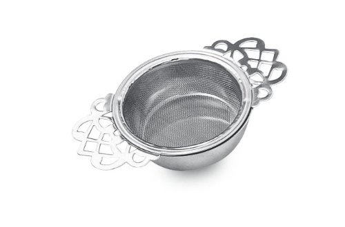 (The Empress Tea Strainer with Drip Bowl)