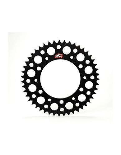 Renthal Sprocket 50GEBK 520Replacement for 112U Chain Sprocket, 50teeth, KX/KXF 125/450, RMZ 25006–Black