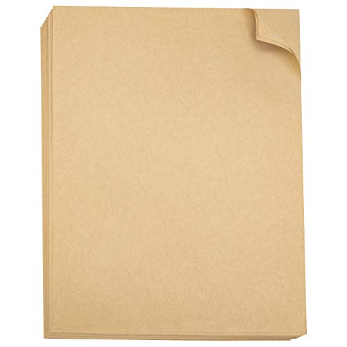 - Brown Kraft Paper 8.5
