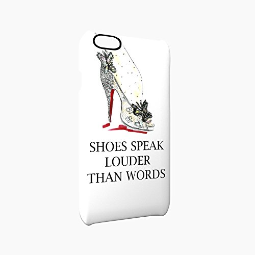 Shoes Speak Louder Than Words Glossy Hard Snap-On Protective iPhone 6 Plus + / 6S Plus + Case Cover