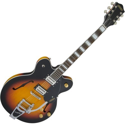 Gretsch G2622T Streamliner Center Block Double Cutaway - Aged Brooklyn Burst, Bigsby ()