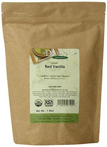 Davidson's Tea Bulk, Red Vanilla, 16-Ounce Bag
