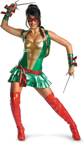 Disguise Sassy Deluxe Raphael, Multi, Large (12-14) Costume ()