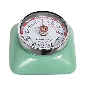 Amazon com Fox Run Retro Kitchen Timer with Magnet Mint Green