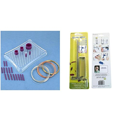 (Beadalon Beginner Thing-a-ma-jig & The Coiling Gizmo Wire Wrapping Kit 2 Pcs)