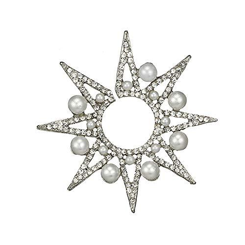 Respctul☀Earings for Women Fashion Flower Ear Jacket Earrings Simple Chic Earrings for Woman Girls Silver