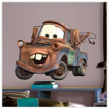 DISNEY CARS Wall Mural Stickers Decal BiG MATER Decor R
